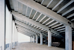 under raker beams